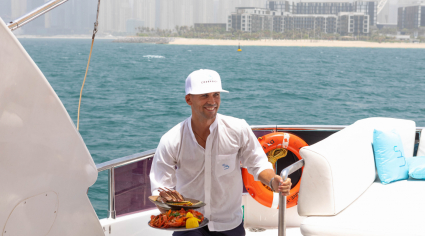 Cove Beach launches food delivery service to Dubai Marina yachts